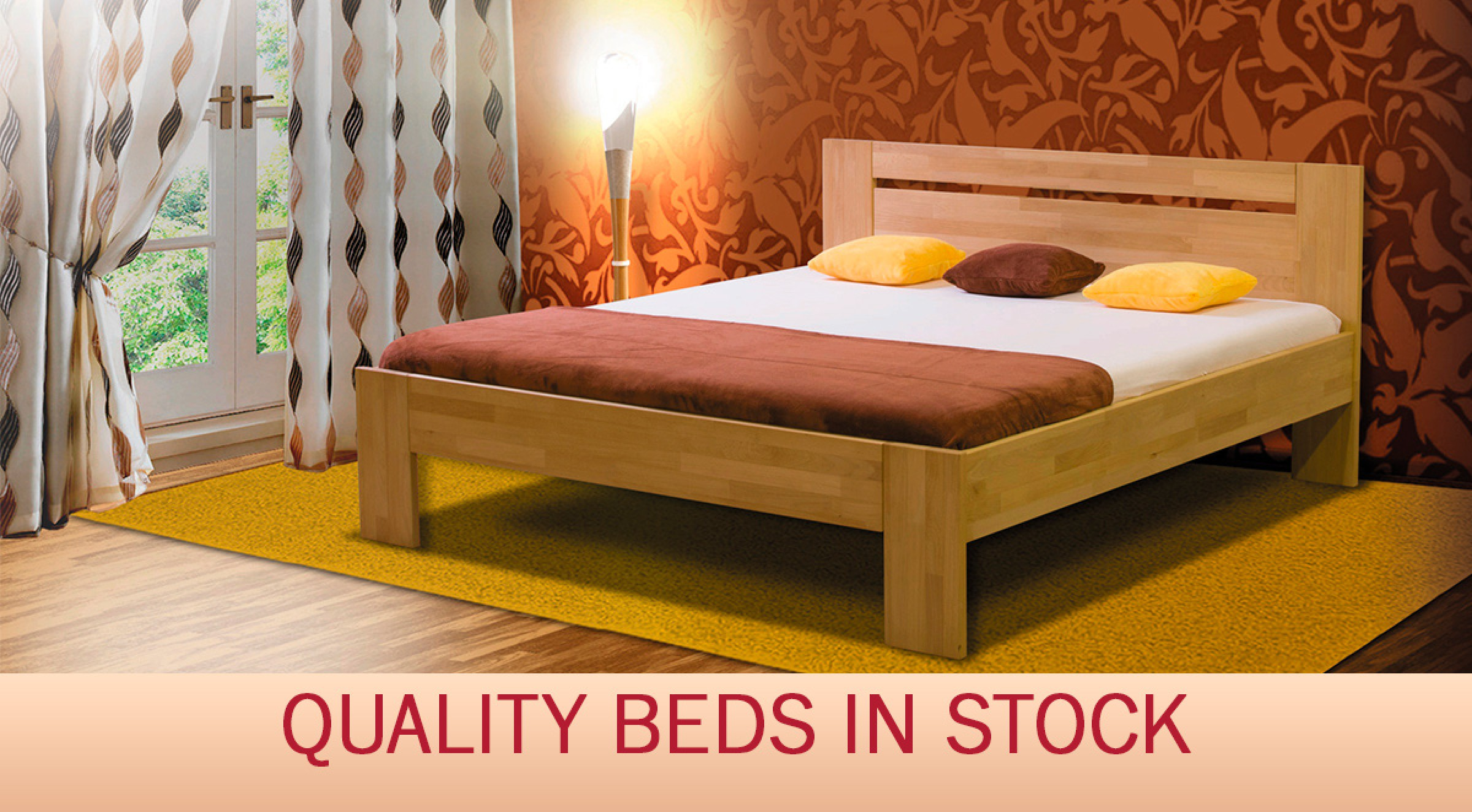 quality beds in stock